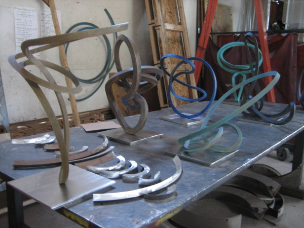 A selection of  Roger Berry's art prior to being transferred to the Stremmel Gallery, Reno, NV.