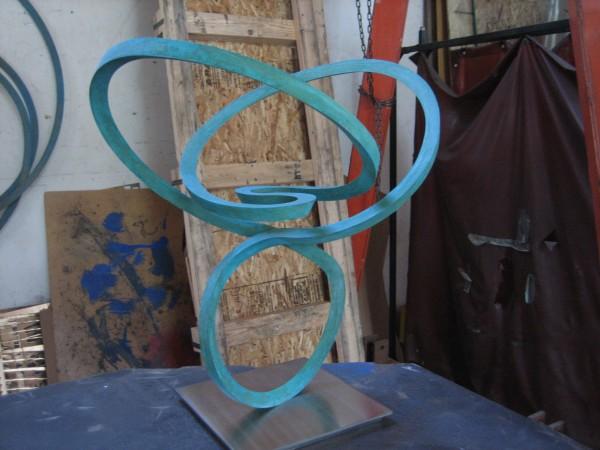 Roger Berry, silicon bronze sculpture, 2014.