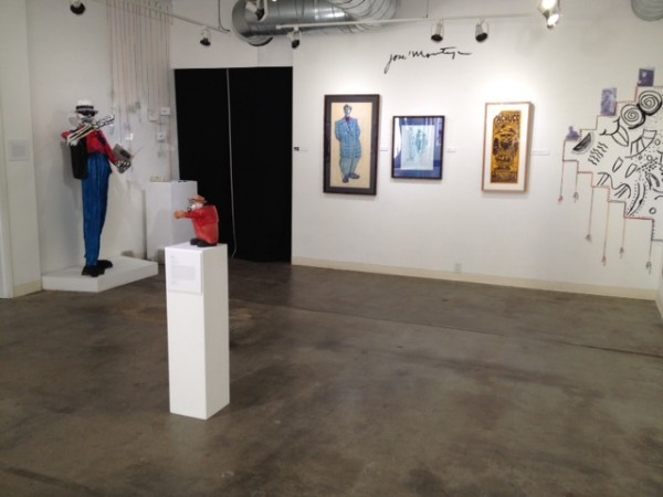 Exhibit honoring Jose Montoya, January 2014.