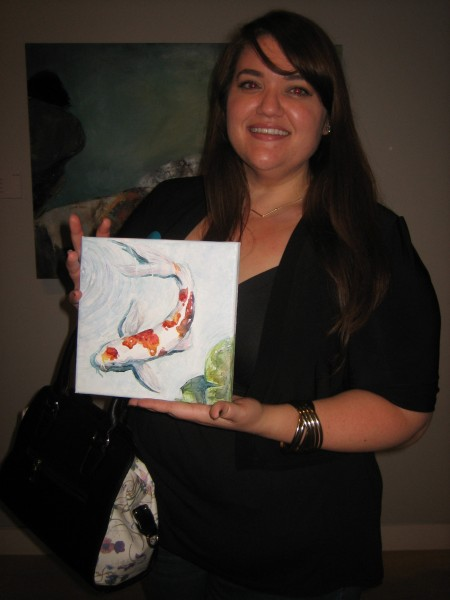 Artist Amber Massey.